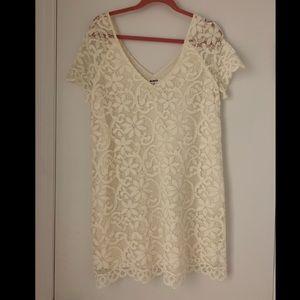 BB Dakota White Lace Dress